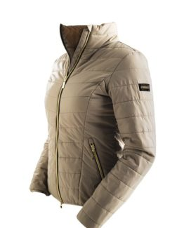 Equestrian Stockholm Light Weight Jacket i champagne