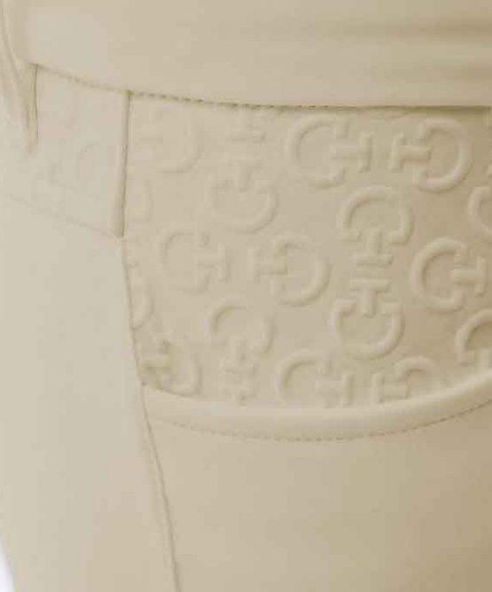 Cavalleria Toscana CT Grip System Breeches knäskodd beige