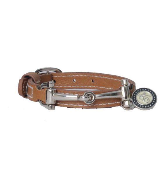Läderarmband Spooks | Ljusbrunt
