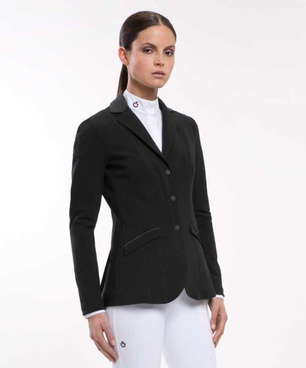 Embossed Line Zip Jacket