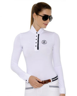 Tävlingsskjorta Nadia med lång ärm
