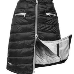 Täckkjol Uhip Thermal Skirt Alaska   Svart