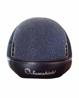 Samshield ridhjälm Premium Alcantara Crystal Fabric 255 Swarovski