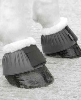 Shires Fleece Topped Over Reach Boots