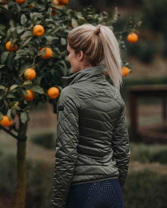 Light Weight Jacket Equestrian Stockholm | Spring Olive