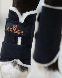 Benskydd Kentucky Turnout Boots Solimbra Front   Svart