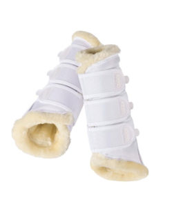 Eskadron Tendon Boots Faux Fur