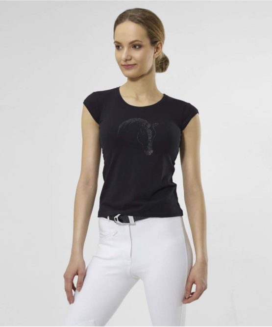 T-shirt Cavalliera Black Beauty