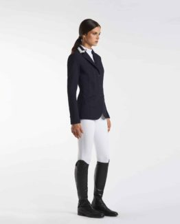 Tävlingskavaj Cavalleria Toscana 3 Color Collar Riding Jacket