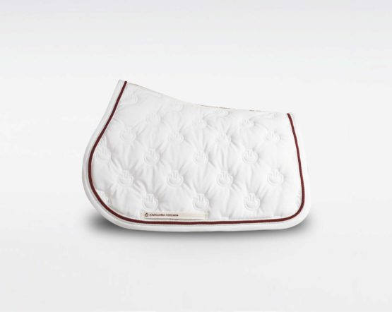 Cavalleria Toscana Embroidered CT Jumping Saddle Pad