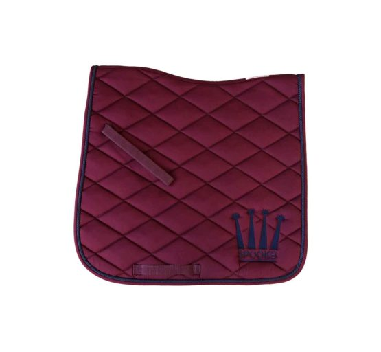 Dressyrschabrak Spooks Crown Bordeaux/navy