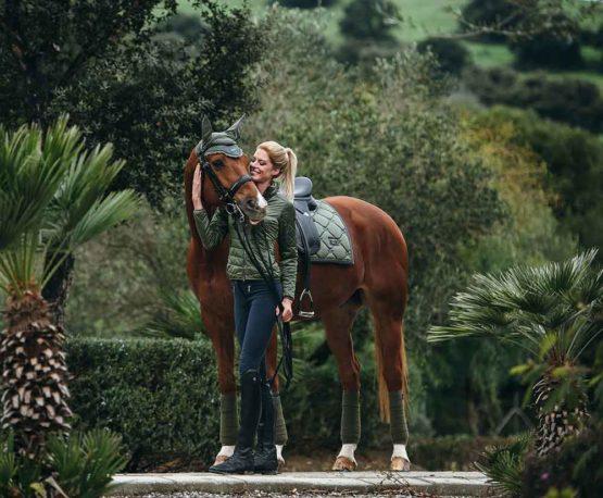 Equestrian Stockholm dressyrschabrak Olive