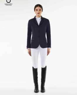 Tävlingskavaj Cavalleria Toscana CT Riding Jacket | Navy