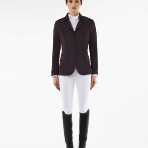Tävlingskavaj Cavalleria Toscana CT Riding Jacket | Plommon