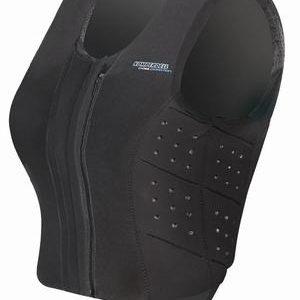 Komperdell säkerhetsväst Front Zip Slim fit
