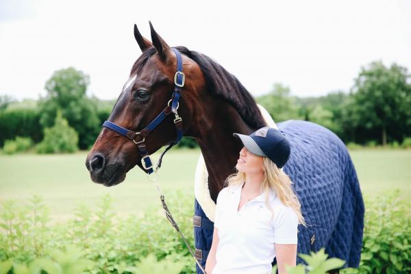 Plaited Nylon Halter   Grimma Kentucky Horsewear