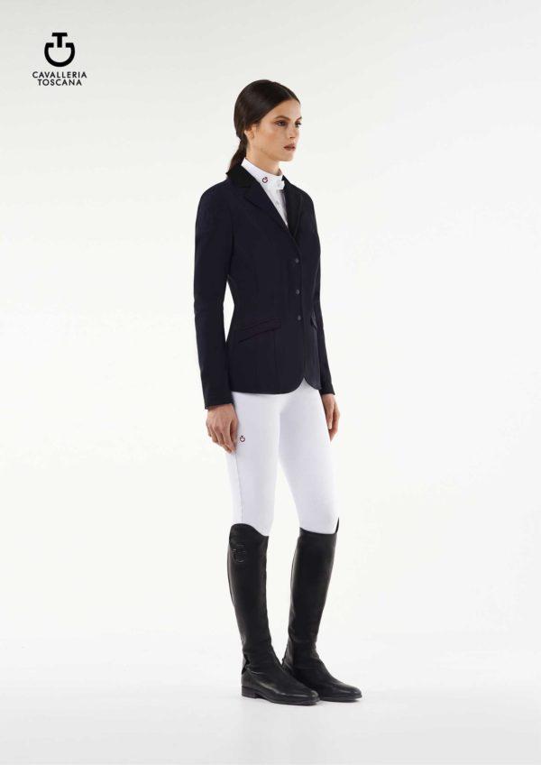 Tävlingskavaj Cavalleria Toscana Zip Riding Jacket
