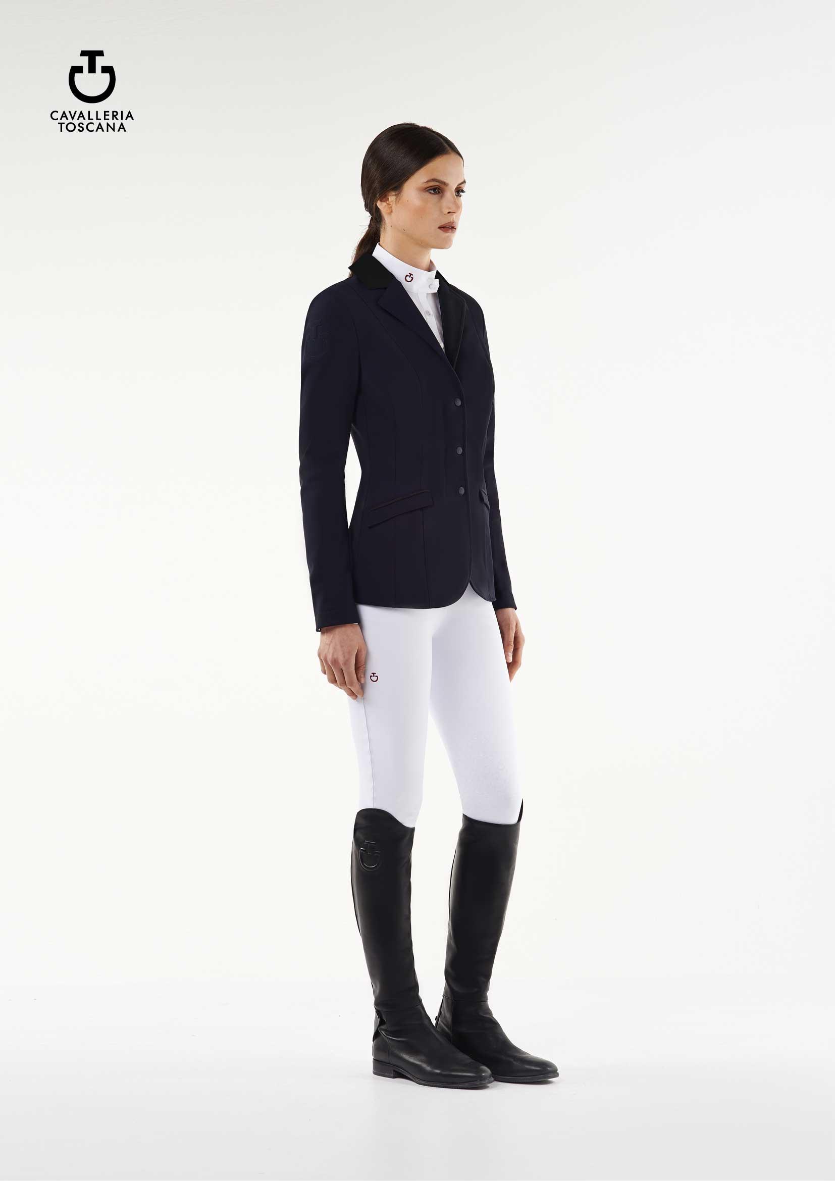 Tävlingskavaj Cavalleria Toscana Zip Riding Jacket 013076b8776c6