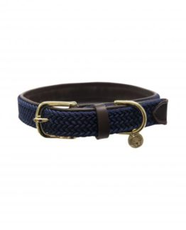 Hundhalsband Plaited Nylon Dog Collar