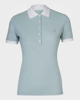 Perforated Jersey Polo Whit Side Zip Pocket | Cavalleria Toscana