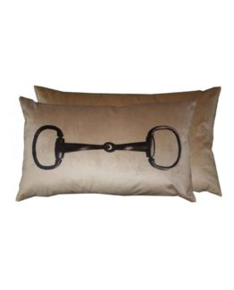 Kudde Snaffle Cushion från Grays Equestrian Gifts