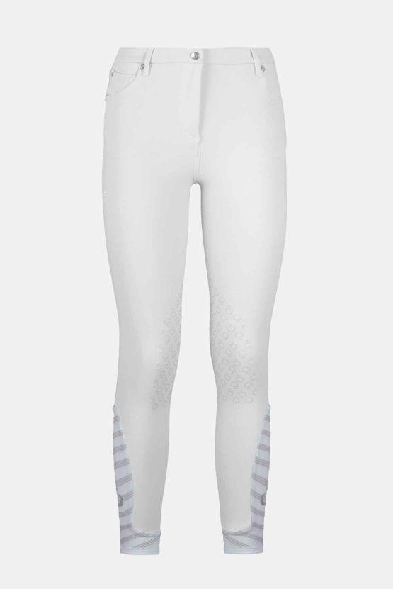 5 Pockets Cord Design Breeches, knäskodd ridbyxa Cavalleria Toscana