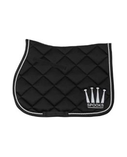 Hoppschabrak Spooks Saddle Pad Crown Shiny
