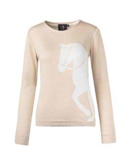 Rönner Design | Marina Sweater tröja med hästmönster