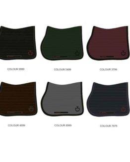 Cavalleria Toscana Quilted Row Jersey Jumping Saddle Pad