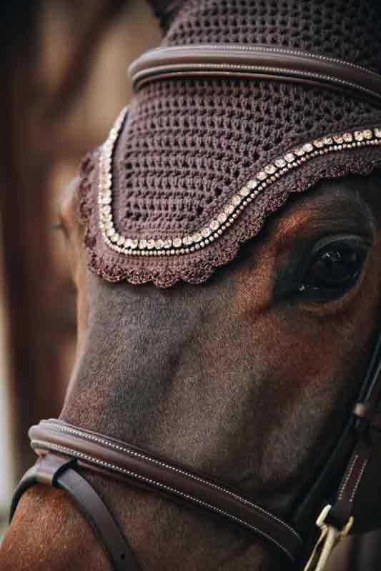 ljuddämpande huva häst