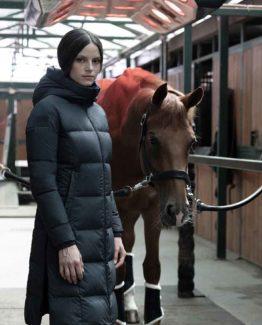 Dunjacka Cavalleria Toscana Downpadded Long Coat With Hood And Side Zip