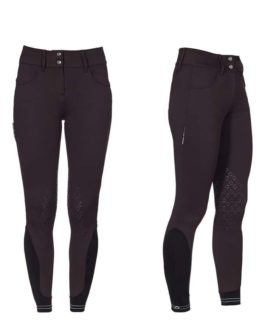 Cavalleria Toscana American Knee Grip Piping Logo breeches