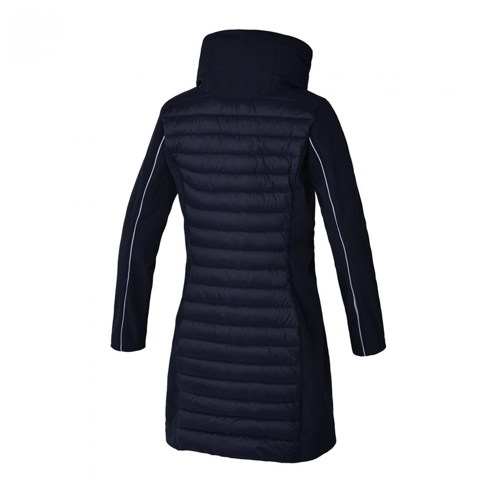 Jacka Kingsland Kaikura Ladies Long Padded Jacket | Navy