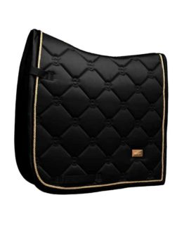 Dressyrschabrak Equestrian Stockholm Black Edition Gold
