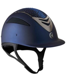 OneK ridhjälm Defender Pro Matt Sparkle Chrome