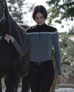 Träningströja Cavalleria Toscana Jersey Fleece Multi Stripe LS Training Polo