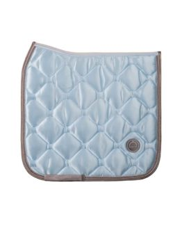 Montar Light blue dressage dlux saddlepad