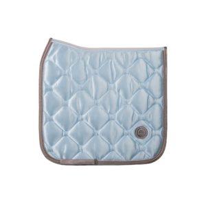 Montar Light blue dressage dlux saddlepad