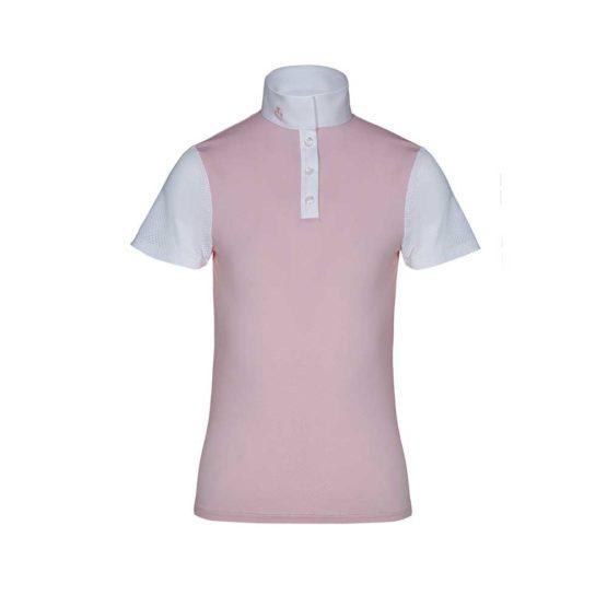 Tävlingsskjorta för barn Jersey Jacquard W/Perforated Sleeves S/S