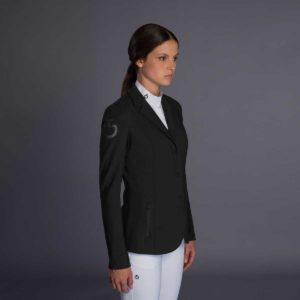 Tävlingskavaj Cavalleria Toscana Tech Knit Zip Riding Jacket