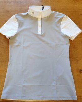 Tävlingsskjorta för barn Cavalleria Toscana Perforated Jersey S/S Polo