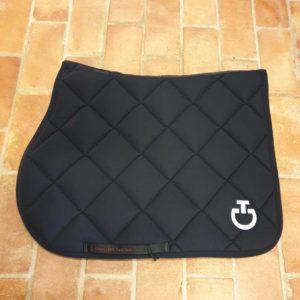Schabrak Cavalleria Toscana Jersey Quilted Rhombi Jumping Saddle Pad