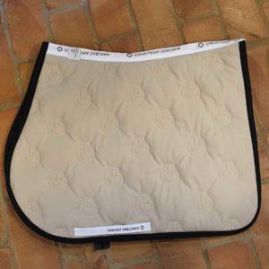 Schabrak Cavalleria Toscana CT Jersey Stripe Jumping Saddle Pad