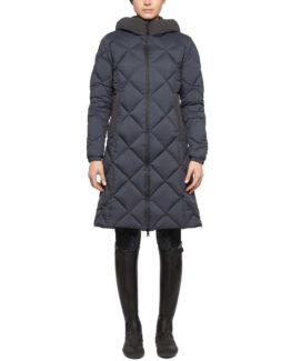 Jacka Cavalleria Toscana Quilted Nylon Hooded Parka W/Fleece Pocket