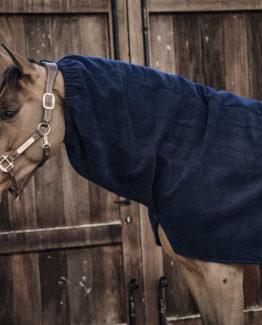 Hals Kentucky Horsewear Heavy Fleece Horse Scarf   Navy
