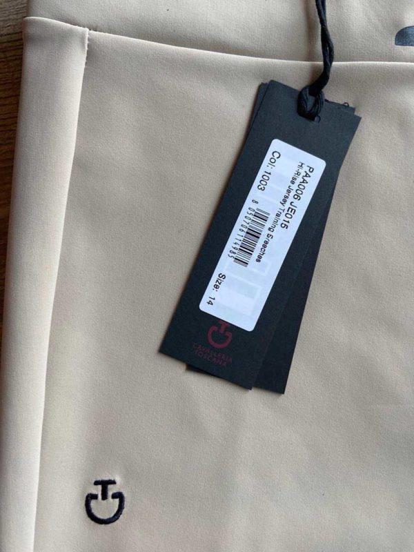Knäskodda ridtights Cavalleria Toscana Hi-Rise Jersey Training Breeches