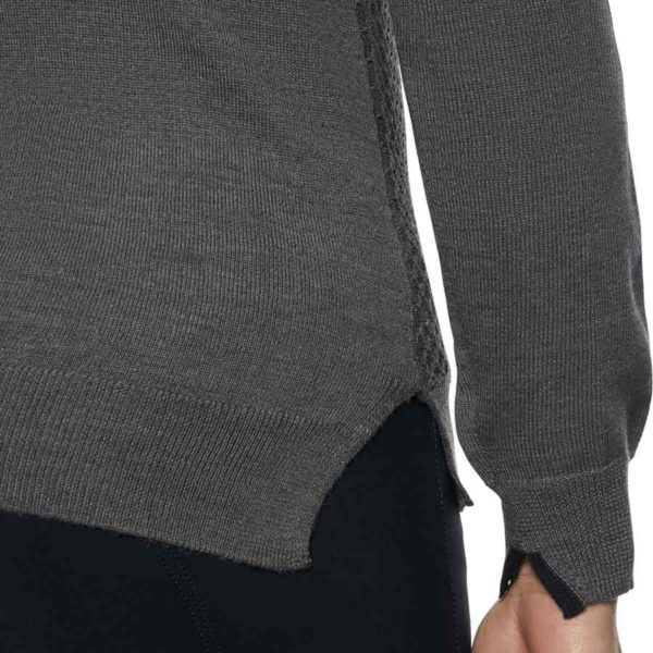 Tröja Cavalleria Toscana Wool Knit Honeycomb V-Neck Sweater