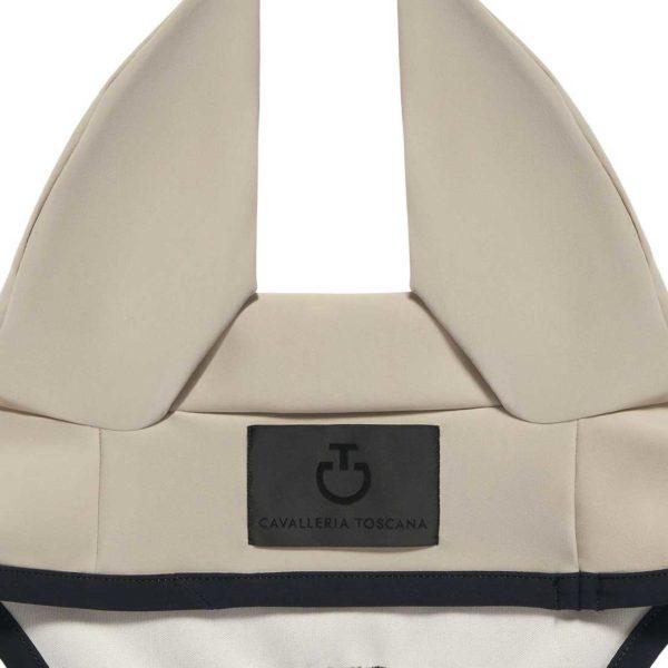 Flughuva Light Weight Jersey Stripe Earnet från Cavalleria Toscana