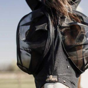 Flughuva Kentucky Horsewear Fly Mask Slim Fit
