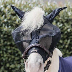 Flughuva Kentucky Horsewear Fly Mask Slim Fit Tiny